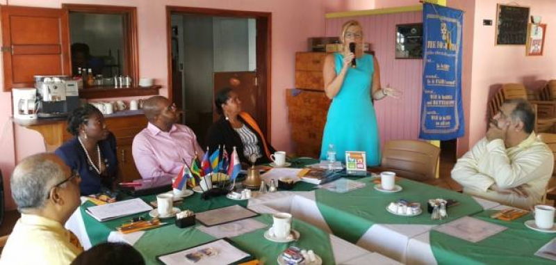 Rotary Sunrise Host Lecture For St. Martin Day