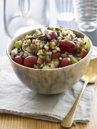 RECIPE: Grapes and Wild Rice Stuffing