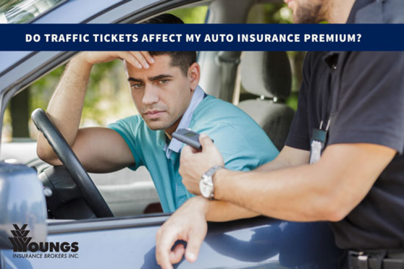 Do Traffic Tickets Affect My Auto Insurance Premium?