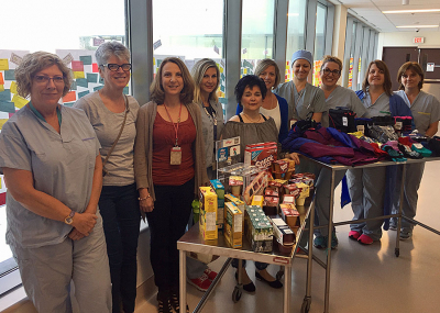 Niagara Health team helps kids through acts of kindness