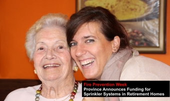 Fire Safety in Retirement Homes: Help from Ontario