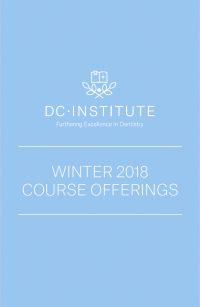 DC Institute's Winter 2018 Course Offerings Are Now Available
