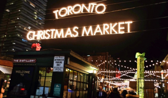 Toronto Christmas Market Nov 16 - Dec 23, 2017