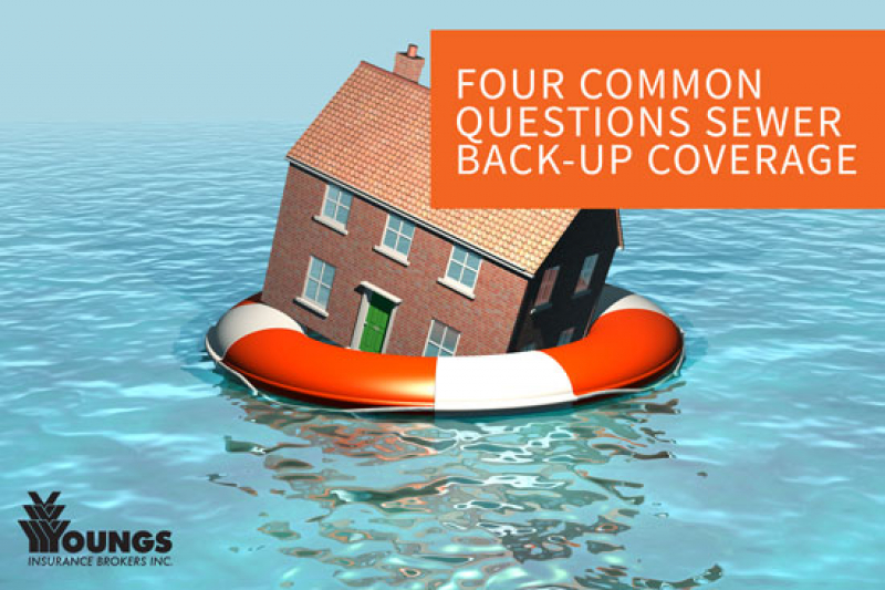 Four Common Questions Surrounding Sewer Back-up Coverage