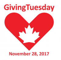 Giving Tuesday - November 28th, 2017