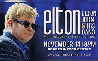ATTENTION Glenburnie Grocery shoppers - you could win 2 tickets to see Elton John at the K-Rock Center Tues. Nov. 14th!  Read on for important contest details.