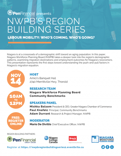 NWPB's Region Building Series #2: Labour Mobility - Who's Coming, Who's Going?