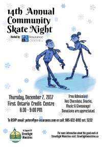 14th Annual Community Skate Night
