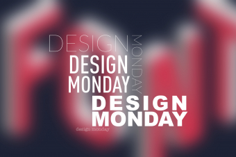Design Monday - Typography and Fonts