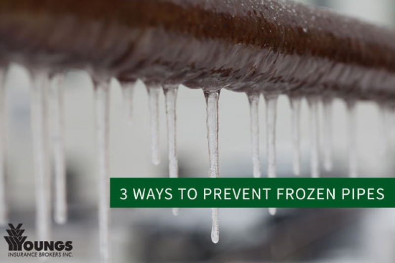 3 Important Ways to Prevent Frozen Pipes this Winter