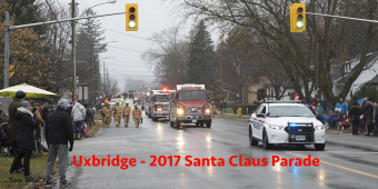 Santa Claus Parade 2017, Uxbridge Ontario
