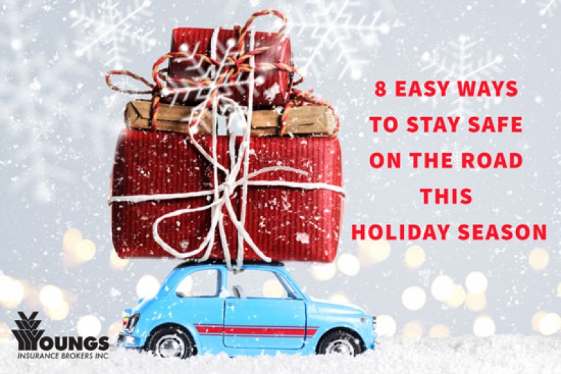 8 Easy Ways to Stay Safe on the Road this Holiday Season