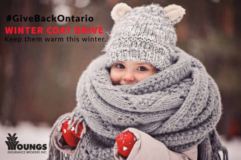 Giving Back | Donate a coat & warm a heart