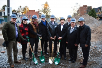 Church street affordable housing project breaks ground on National Housing Day