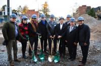 Groundbreaking Ceremony of New Affordable Housing Development