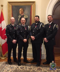 Niagara Officers Honoured for Bravery