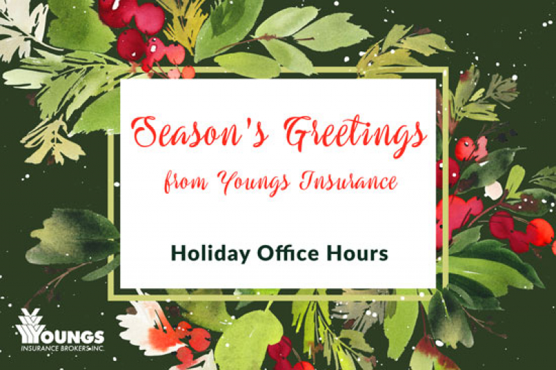 2017 | Season's Greetings from Youngs Insurance