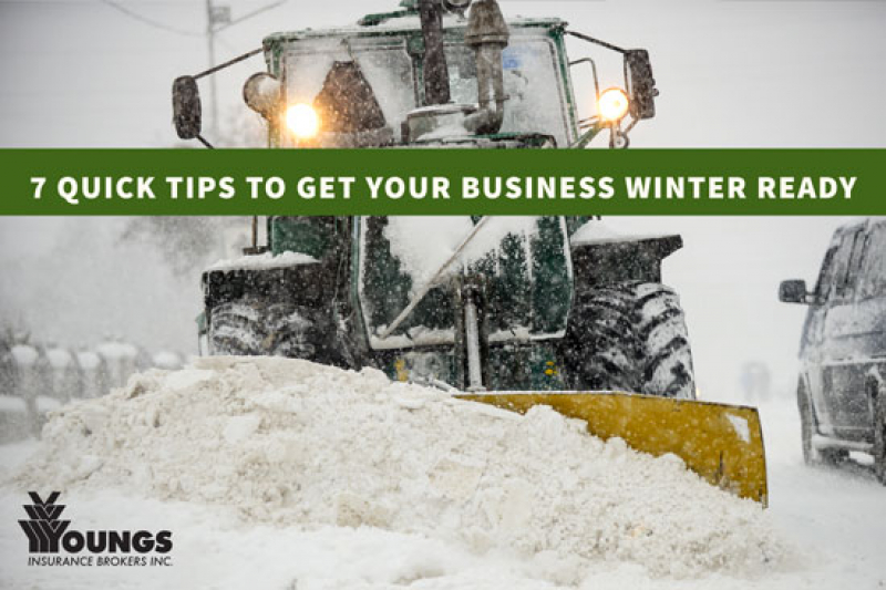 7 Quick Tips to get your Business Winter Ready