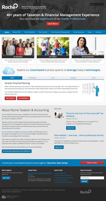 New website... same Roche professional service!