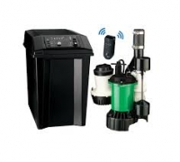 Avoid Basement Flooding with wifi Sump Pump Battery Backup. It's Smart.