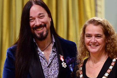 Congratulations to Rob Baker of the Tragically Hip on receiving the Order of Canada