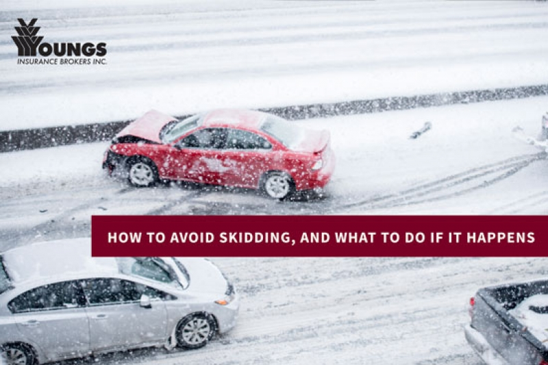 How to Avoid Skidding, and What to Do If It Happens