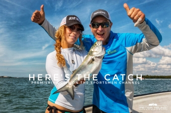 With cold temperature's upon us, it's time to head south and The Rod Glove Amanda Lynn Mayhew went for saltwater