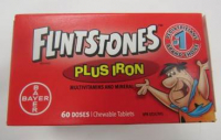 Safety Alert for Flintstones plus Iron Vitamins