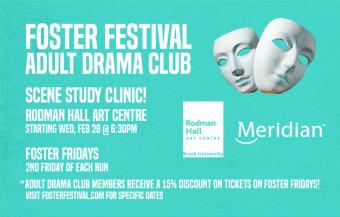 Foster Festival's 2018 Adult Drama Club
