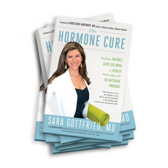 From Dr. Sara's Book Club – 'The Hormone Cure' is a great resource.