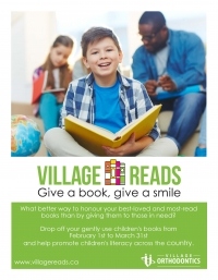 Village Reads- Book Drive