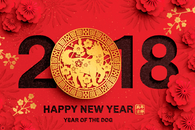 Celebrating Chinese New Year – 2018 is the Year of the Dog