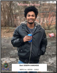 MISSING: Have You Seen Dani Joseph-Varghese
