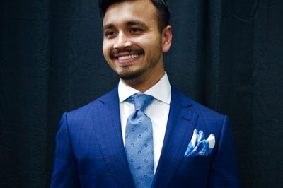 In King & Bay, large scale land development project engineer Ashish Shukla emanates confidence