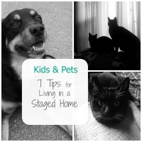Kids & Pets: 7 Tips for Living in a Staged Home
