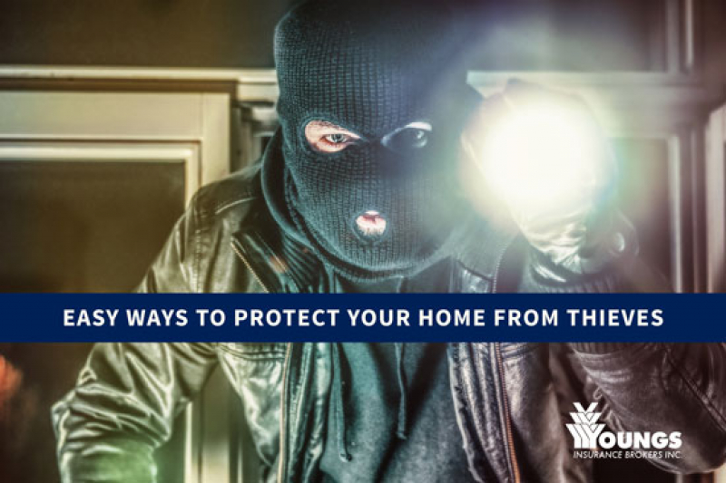 Easy Ways to Protect your Home from Thieves