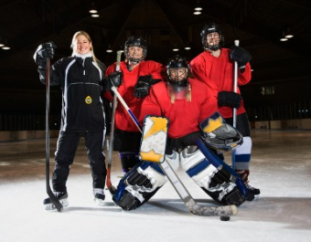 ICE HOCKEY 'SPORT' ADDED TO WOMEN'S RETREAT