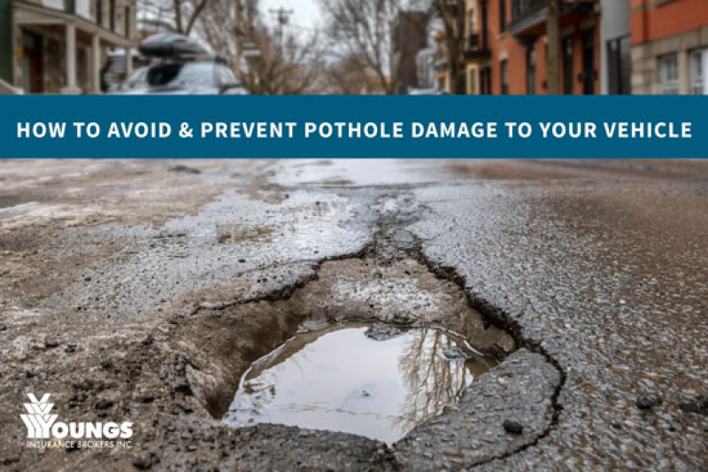 How to Avoid & Prevent Pothole Damage to Your Vehicle