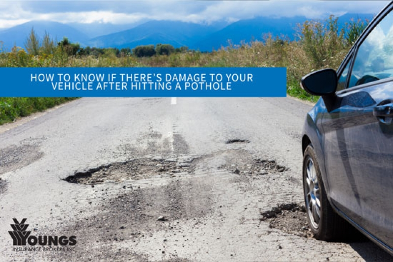 How to Know if There's Damage to Your Vehicle After Hitting a Pothole