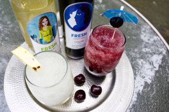 Toasting Routine: Fresh Wine Slushies