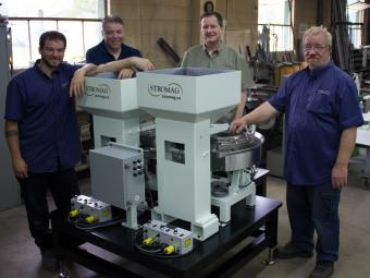STROMAG Builds a 4 Part Vibratory Feeder System
