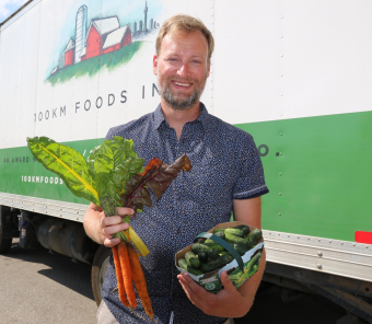 100KM Foods connects farmers and chefs
