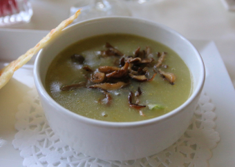 More than a Sunday drive + Asparagus-forest mushroom soup