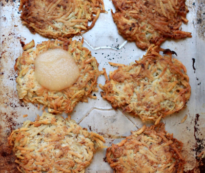 A whole latke love (and questions)