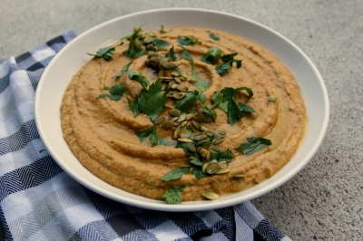 Like buttah: Sweet potato chipotle dip