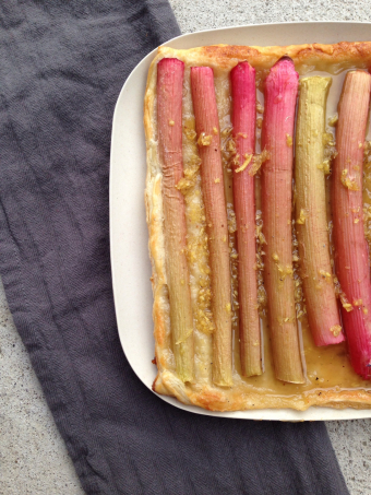 Rhubarb for the lazy