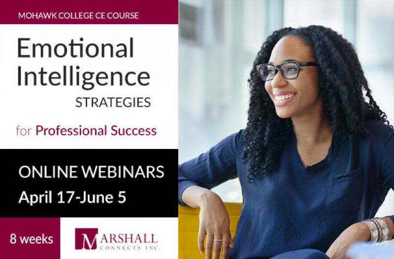 Emotional Intelligence Webinar CE Course | April 17 - June 5, 2018
