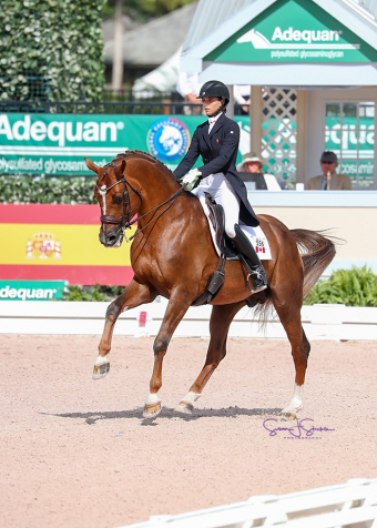 Canadian Dressage Team Takes Silver  at 2018 CDIO 3* Wellington Nations Cup