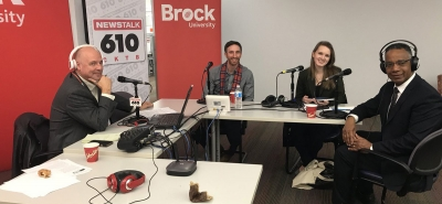 NWPB in the Community - News Talk 610's Roundtable Road Trip with NWPB's Mario De Divitiis, and Brock University President Gervan Fearon