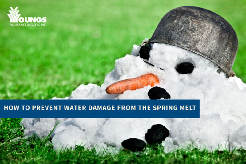 How to Prevent Water Damage from the Spring Melt